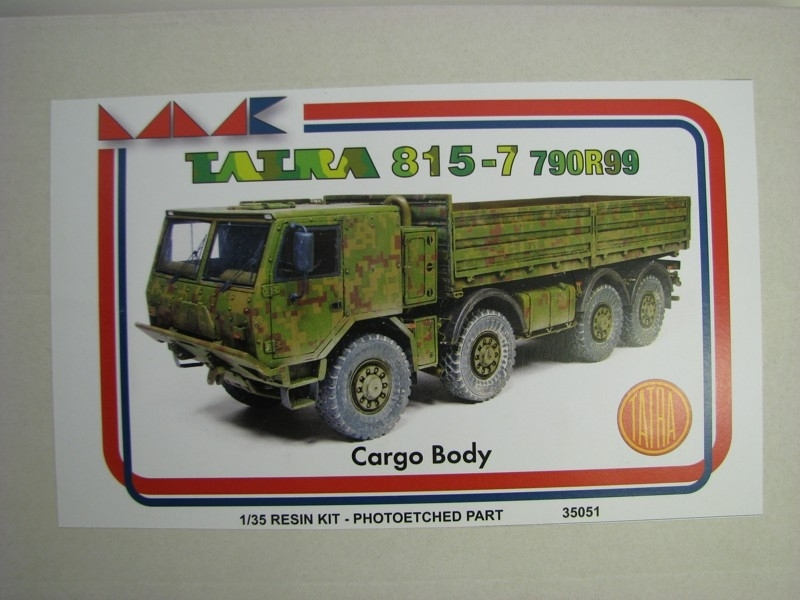Tatra 815-7 790R99 Cargo Body Resin Kit 1:35 MK models